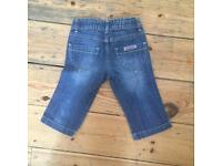 Genuine Girl's Calvin Klein jeans £10 age 1-1&half years
