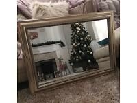 Gold/Silver Wall Mirror