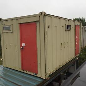 Portable cabin/shower block