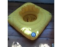 Perfectly Happy People buoyancy aid, integral shaped baby seat,offers support to back