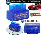 ELM 327 BLUETOOTH CAR DIAGNOSTICS SCANNERS
