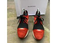 Balenciaga race runner trainers size 4