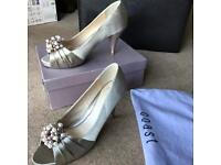 Coast Satin Court Shoes (UK 7)