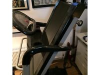 MTI TREADMILL 2 years old but hardly used ,full working order, folds up into manageable size