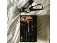 Babyliss Pro Glamour Large Tong+ Babyliss Thermo-Ceramic Rollers- both as new, used only twice.