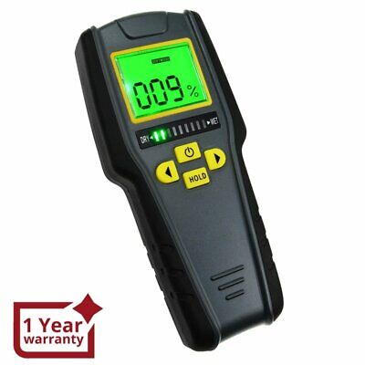 Digital Pinless Non-invasive Inductive Moisture Meter Hard Soft Wood