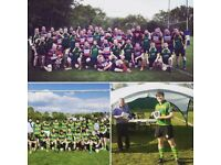 Play rugby for Finsbury Park RFC