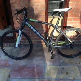 Boardman team bike , carbon forks hybrid , bike top spec