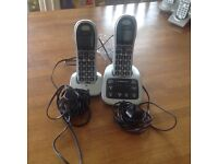 BT 4500 Twin Big Button Digital Cordless Telephones with Nuisance Call Blocker