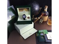 Black PVD Rolex Daytona with White Pearl Face Comes Rolex Bagged and Boxed With Paperwork