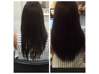 Hair extensions - nano rings, micro rings and fusion bonds