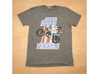 BRAND NEW Evel Knievel T shirt, medium