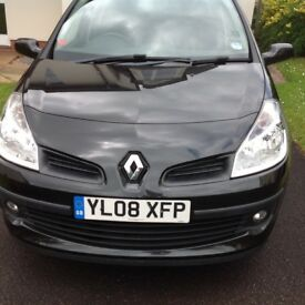Renault Clio 1.5 dci 2008 plate