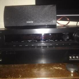 Onkyo 5.1 AV amp and speakers