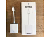 Apple Mini DisplayPort to VGA Adapter - perfect condition, boxed