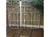 Wrought Iron Driveway Gates / Garden gates / metal gates / steel gates / double house gates