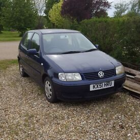 VW Polo 2001 1.4lt petrol 5 door hatch was running perfectly but now I can't start it