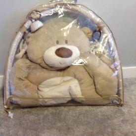 Teddy bear play mat