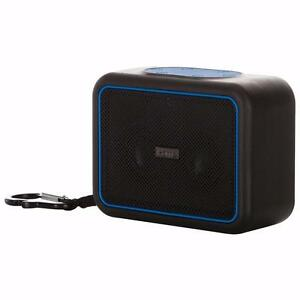 iHome Waterproof Portable Bluetooth Speaker (IBT35BLC) - Black/Blue