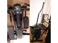 NEED GONE ASAP Exercise bike/cross trainer Home Gym Equipment