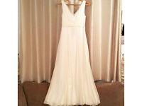 Monsoon wedding dress size 10