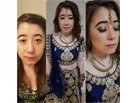 Hair and makeup by Nisha