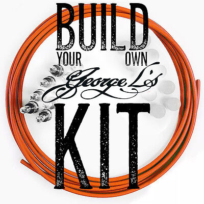 Build Pedal Board (*Build Your Own* George L's Pedalboard .155 / .225 Effects Cable Pedal Board Kit )