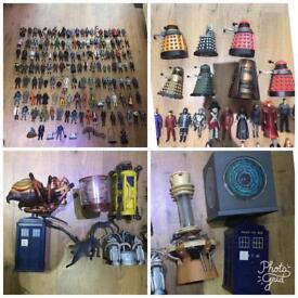 Huge Doctor Who Action Figure Job Lot
