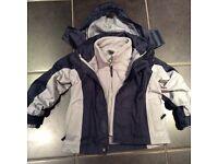 Boys Trespass Waterproof Coat age 2-3