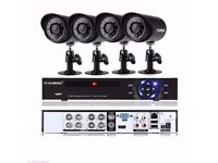 FLOUREON 8CH ONVIF HDMI DVR 900TVL Outdoor CCTV Home Security Camera System Kit Full Warranty