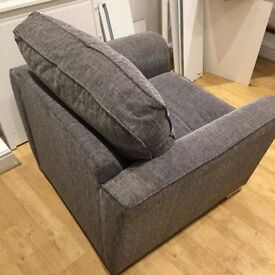 As New Fabric Armchair very good quality