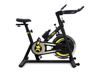 Bodymax B2 Exercise / Spinning Bike with LCD screen - Black - Never used