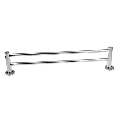 Double Bar Stainless Steel Towel Rack Wall-Mounted Bathroom Towel Holder Double Towel Bar Holder