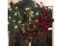 Christmas wreaths/garlands