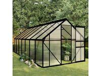Greenhouse Anthracite Aluminium 8.17 m²-48213