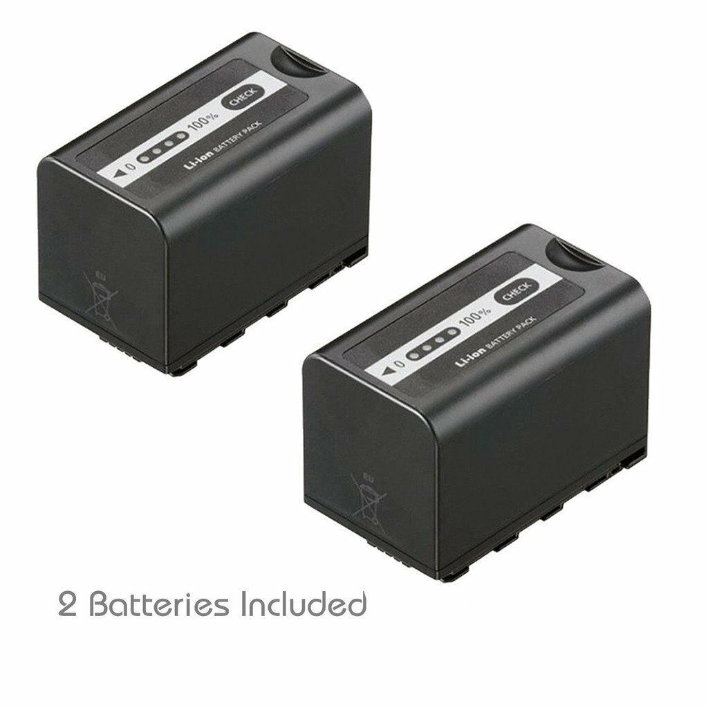2x Kastar Battery For Panasonic Vw-vbd58 Ag-ac8ej Ag-dvc3...