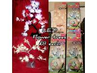 Led colour changing flower light