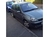 clio 3 door 1.1 manaul good condition very low insurance ideal first car px to clear