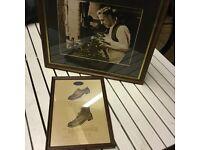 Framed Prints - Shoe industry