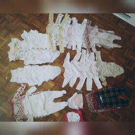 Baby girl clothes bundle 0-3 month