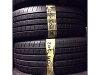 205/40/18 Pirelli x2 matching pair good tread