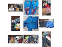 Boys used clothes/jackets/shoes for sale. Good condition.