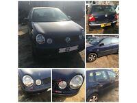 Vw Polo 2002 Blue 9N 5 Door 1.4 bonnet all parts available