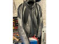 Dianese leather motorcycle jacket