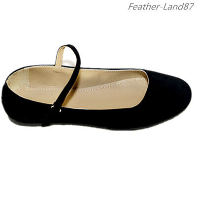 New Women Black Mary Jane Shoes  Ballet Classic Ballerina Flats #2862 Ballet Classic Flats