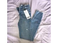 Women's Zara high waisted skinny jeans
