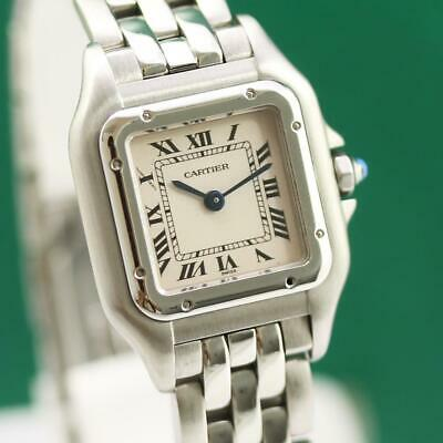 CARTIER PANTHERE REF 1320 STAINLESS STEEL QUARTZ LADIES WATCH