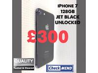 iPHONE 7 128GB, JET BLACK, WITH SHOP RECEIPT & WARRANTY, GOOD CONDITION 🌟⭐️SPECIAL OFFER⭐️🌟
