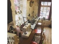 Sewing machinist available for freelance work
