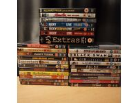 Job lot DVDs 22 Films & Extras TV series + 6 Stand-up DVD - Ricky Gervais Richard Pryor Dylan Moran
